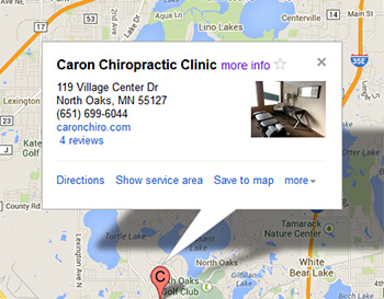 caron-north-oaks-location